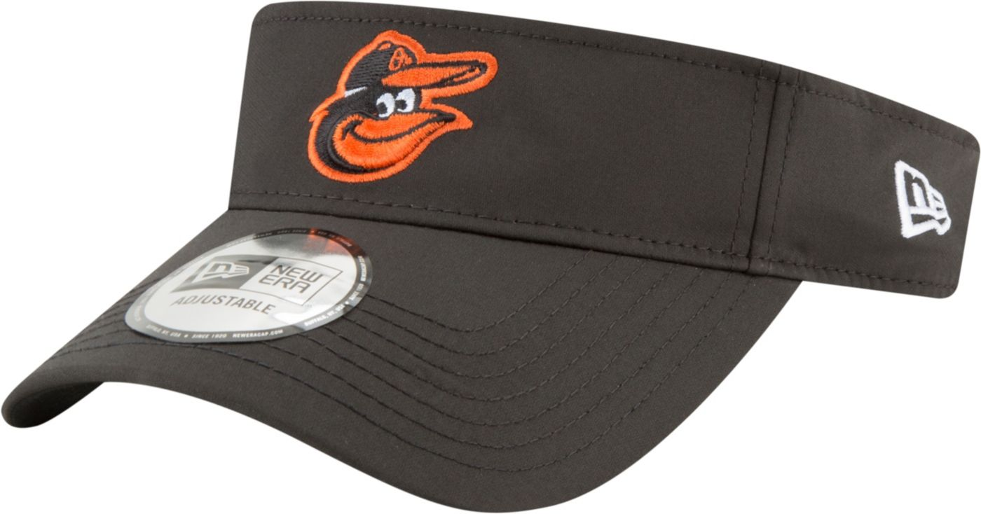 New Era Men's Baltimore Orioles Clubhouse Adjustable Visor
