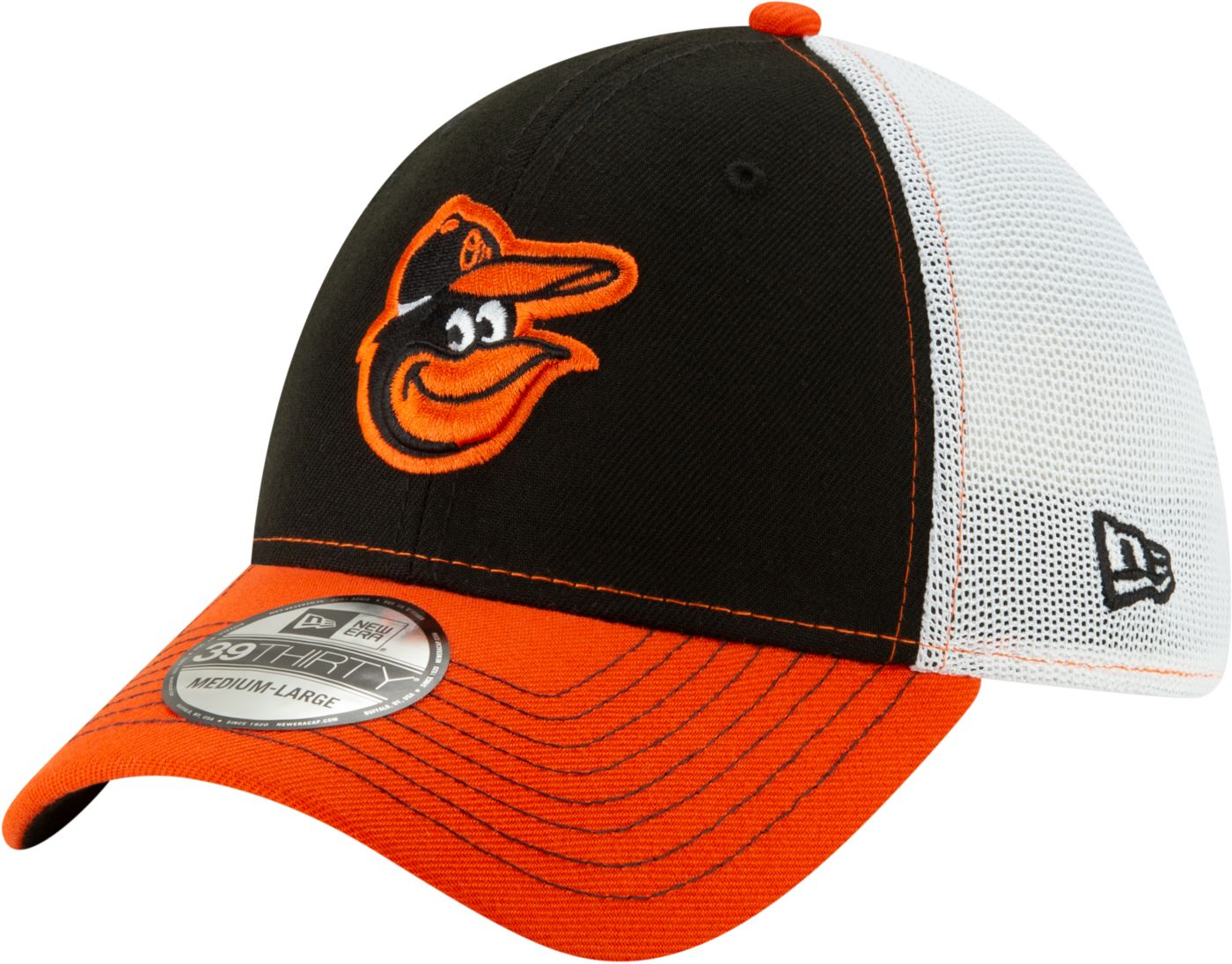 New Era Men's Baltimore Orioles 39Thirty Practice Piece Stretch Fit Hat