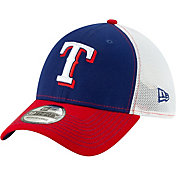 New Era Men's Texas Rangers 39Thirty Practice Piece Stretch Fit Hat