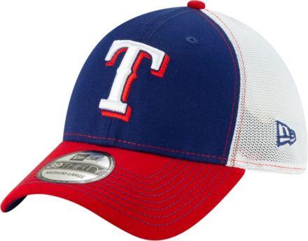 New Era Men  39 s Texas Rangers 39Thirty Practice Piece Stretch Fit Hat 6f03baecd2