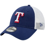 New Era Men's Texas Rangers 9Forty Team Trucker Adjustable Hat