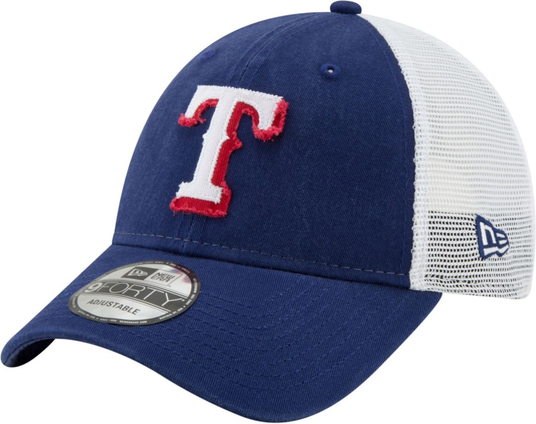 low priced dbe36 2dedd New Era Men s Texas Rangers 9Forty Team Trucker Adjustable Hat 1