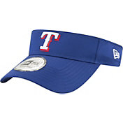 New Era Men's Texas Rangers Clubhouse Adjustable Visor
