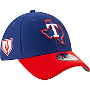 New Era Men's Texas Rangers 39Thirty HexTech 2019 Spring Training Stretch Fit Hat