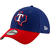 New Era Men's Texas Rangers 39Thirty HexTech Batting Practice Stretch Fit Hat