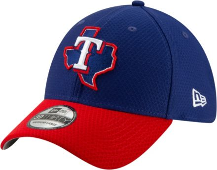 new arrival b225a 47598 New Era Men  39 s Texas Rangers 39Thirty HexTech Batting Practice Stretch  Fit Hat