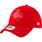 New Era Men's Texas Rangers 39Thirty Clubhouse Red Stretch Fit Hat
