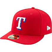 New Era Men's Texas Rangers 59Fifty Alternate Red Low Crown Fitted Hat