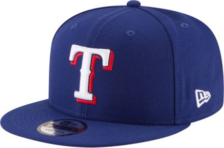 987c639fcd66d New Era Men  39 s Texas Rangers 9Fifty Adjustable Snapback Hat