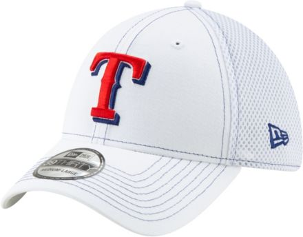 66c50edb370852 New Era Men's Texas Rangers 39Thirty Stretch Fit Hat