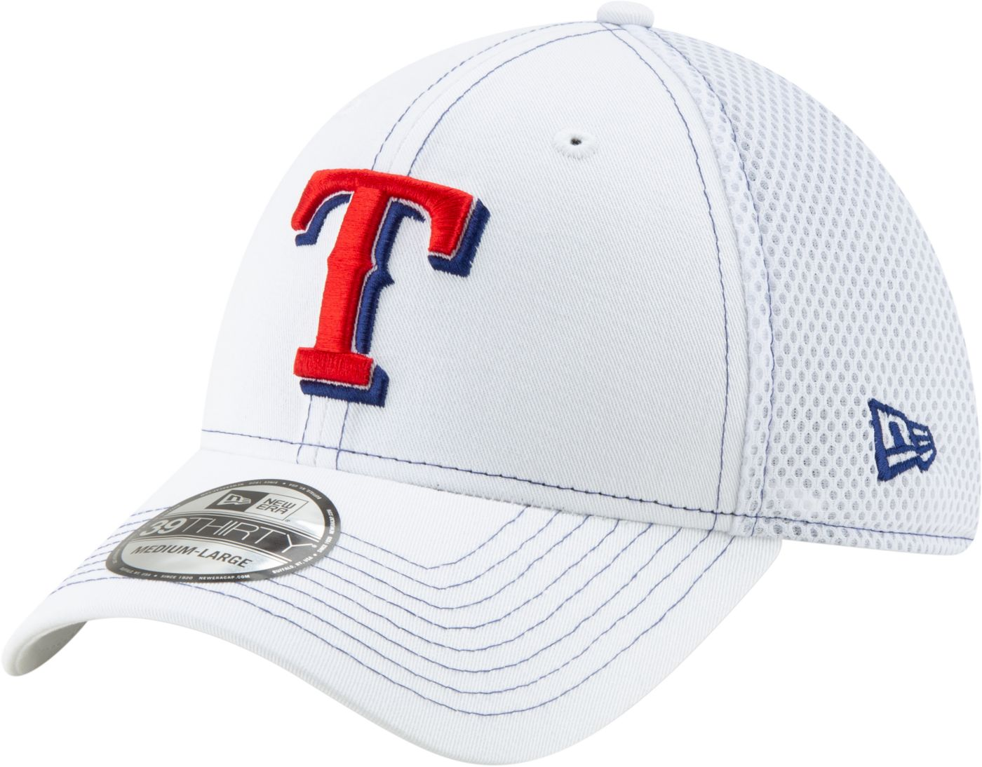 New Era Men's Texas Rangers 39Thirty Stretch Fit Hat