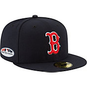 New Era Men's Boston Red Sox 59Fifty 2018 MLB Postseason Authentic Hat