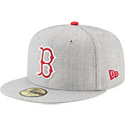 New Era Men's Boston Red Sox 59Fifty Heather Hype Fitted Hat