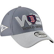 New Era Men's 2018 AL Champions Locker Room 39Thirty Boston Red Sox Stretch Fit Hat