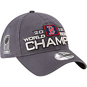 New Era Men's 2018 World Series Champions Locker Room 9Twenty Boston Red Sox Adjustable Hat
