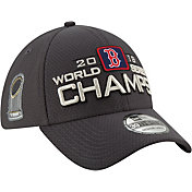 New Era Men's 2018 World Series Champions Locker Room 39Thirty Boston Red Sox Stretch Fit Hat