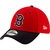 New Era Men's Boston Red Sox 39Thirty HexTech Batting Practice Stretch Fit Hat