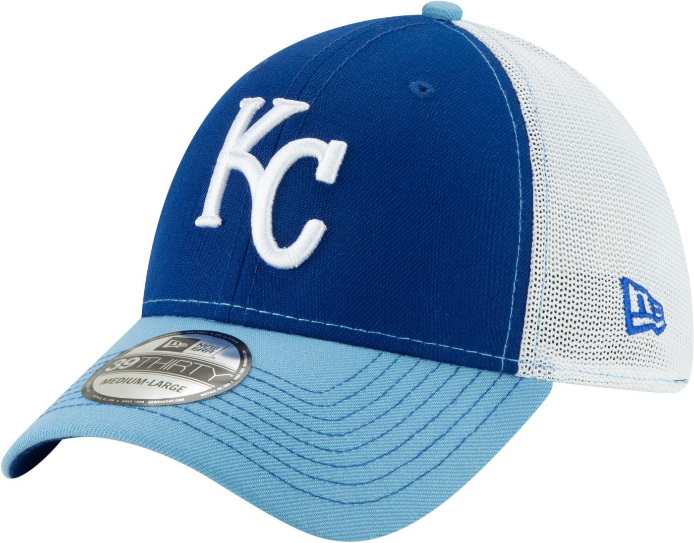 New Era Men's Kansas City Royals 39Thirty Practice Piece Stretch Fit Hat