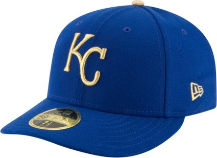 New Era Men s Kansas City Royals 59Fifty Alternate Royal Low Crown Fitted  Hat. noImageFound 9387d7379657