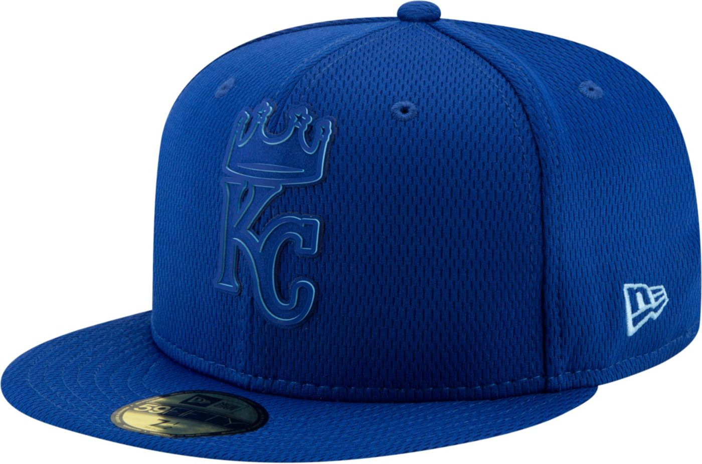 New Era Men's Kansas City Royals 59Fifty Clubhouse Royal Fitted Hat