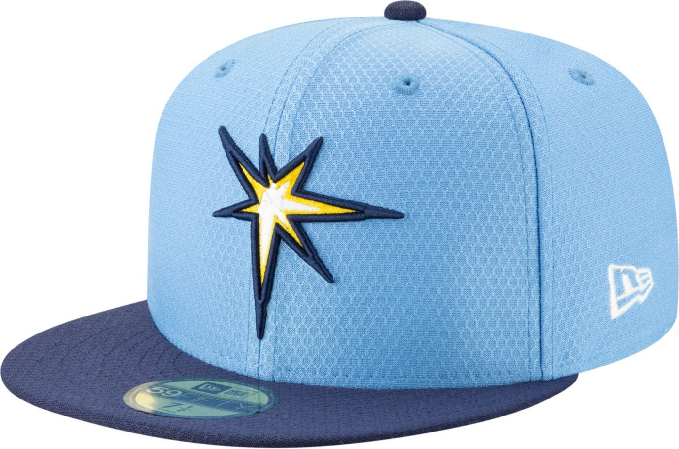 New Era Men's Tampa Bay Rays 59Fifty HexTech Batting Practice Fitted Hat