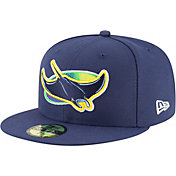 New Era Men's Tampa Bay Rays 59Fifty Alernate Navy Authentic Hat
