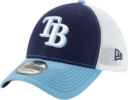 New Era Men s Tampa Bay Rays 39Thirty Practice Piece Stretch Fit Hat.  noImageFound f333db4127e