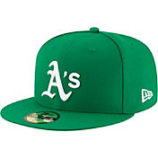 New Era Men's Oakland Athletics 59Fifty Alternate Green Authentic Hat
