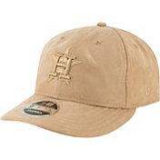New Era Men's Houston Astros 9Fifty Suede Retro Brown Adjustable Snapback Hat