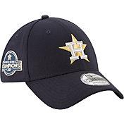 New Era Men's Houston Astros Championship Gold 39Thirty Stretch Fit Hat