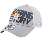 New Era Men's 2018 LDS Clincher Locker Room 9Forty Houston Astros Adjustable Hat