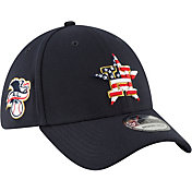New Era Men's Houston Astros 39Thirty 2018 4th of July Stretch Fit Hat