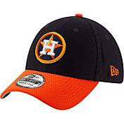New Era Men's Houston Astros 39Thirty HexTech Batting Practice Stretch Fit Hat
