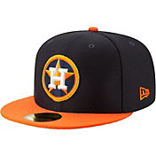 New Era Men's Houston Astros 59Fifty HexTech Batting Practice Fitted Hat