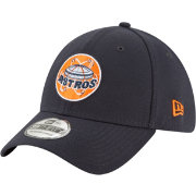 New Era Men's Houston Astros 39Thirty Cooperstown Navy Stretch Fit Hat