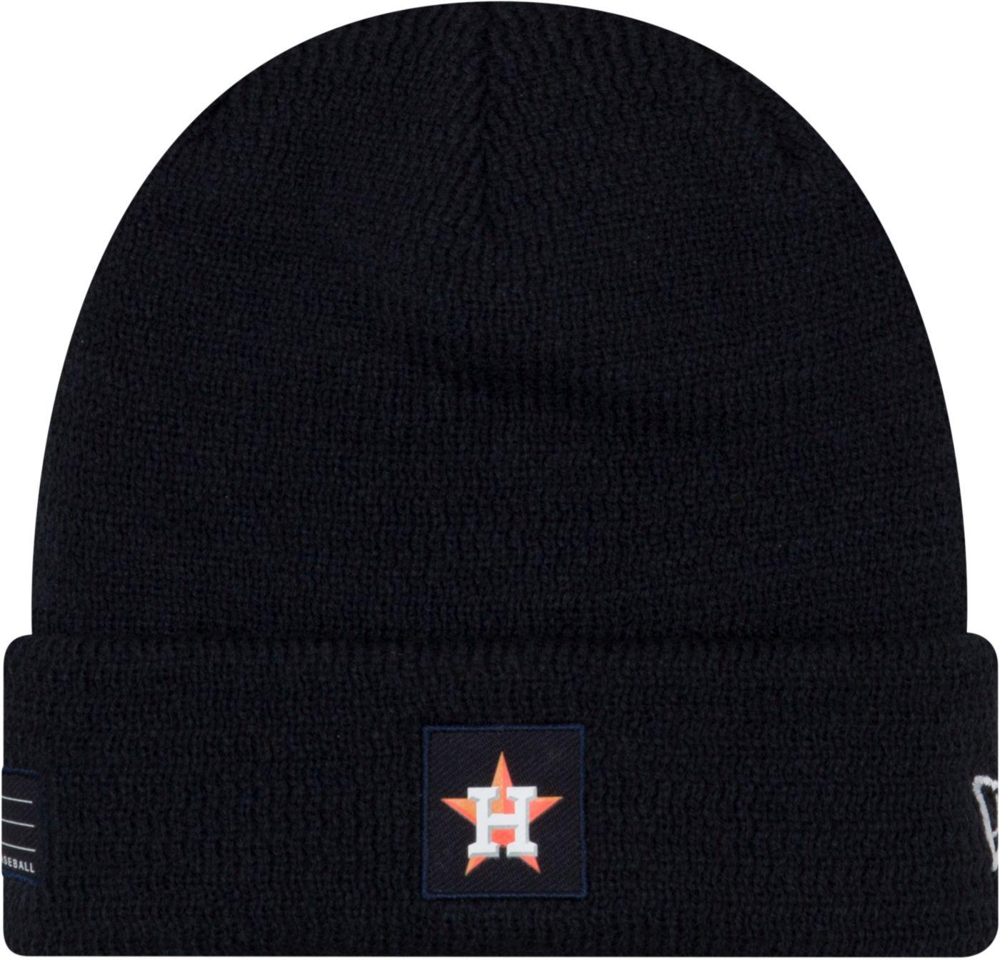 New Era Men's Houston Astros Clubhouse Knit Hat