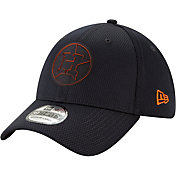New Era Men's Houston Astros 39Thirty Clubhouse Navy Stretch Fit Hat
