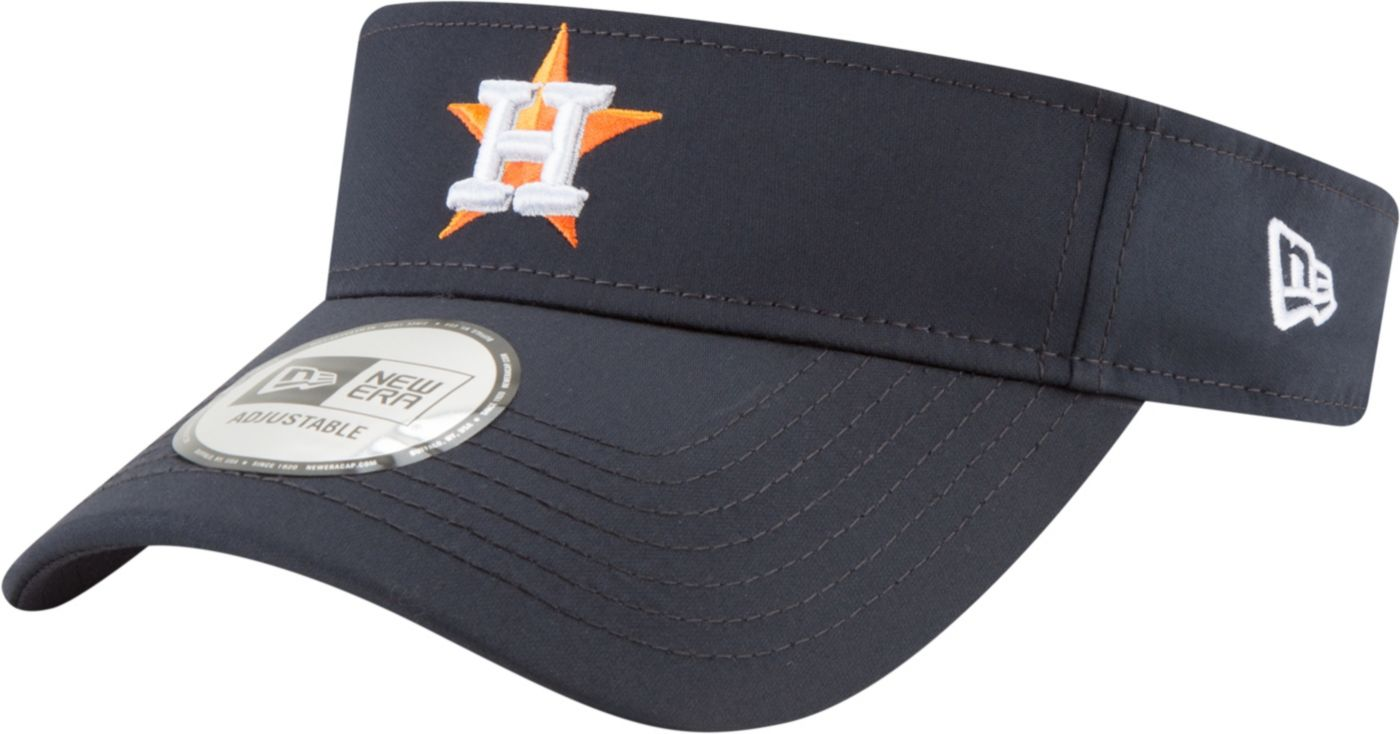 New Era Men's Houston Astros Clubhouse Adjustable Visor