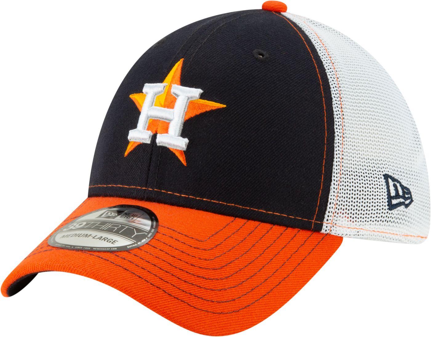 New Era Men's Houston Astros 39Thirty Practice Piece Stretch Fit Hat
