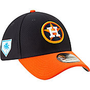 New Era Men's Houston Astros 39Thirty HexTech 2019 Spring Training Stretch Fit Hat