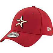 New Era Men's Houston Astros 39Thirty Cooperstown Red Stretch Fit Hat
