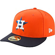 New Era Men's Houston Astros 59Fifty Alternate Orange Low Crown Fitted Hat