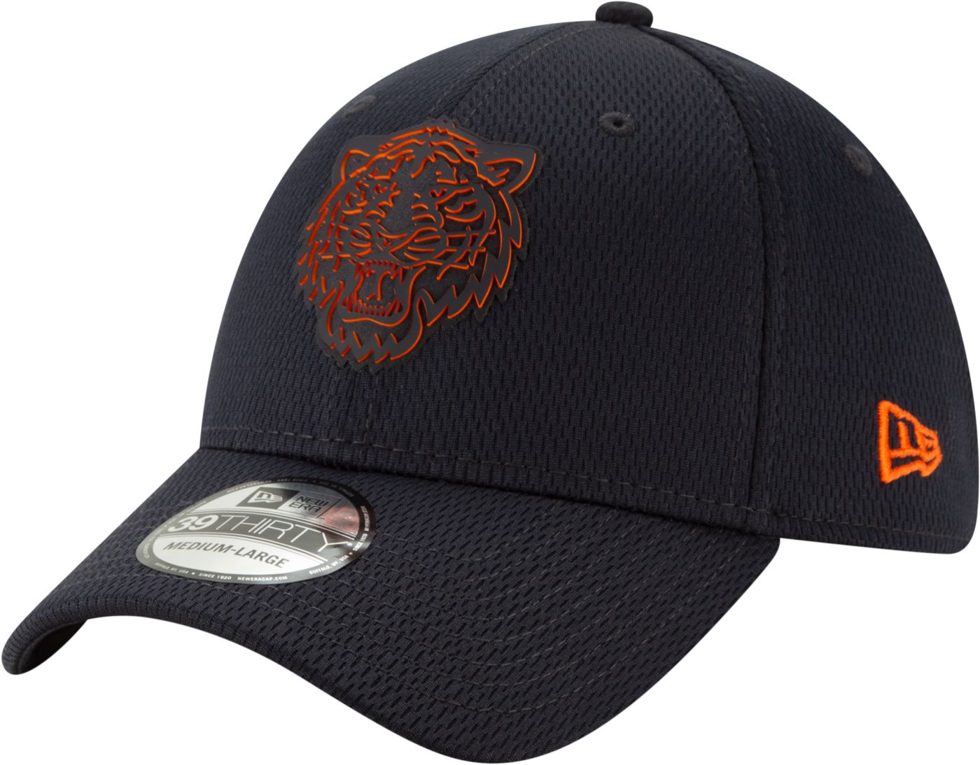 New Era Men's Detroit Tigers 39Thirty Clubhouse Navy Stretch Fit Hat