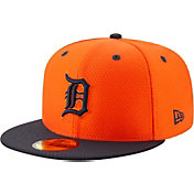 New Era Men's Detroit Tigers 59Fifty HexTech Batting Practice Fitted Hat