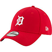 New Era Men's Detroit Tigers 39Thirty City Pride Red Stretch Fit Hat