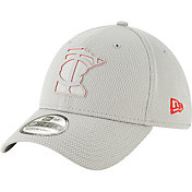 New Era Men's Minnesota Twins 39Thirty Clubhouse Grey Stretch Fit Hat