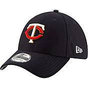 New Era Men's Minnesota Twins 39Thirty HexTech Batting Practice Stretch Fit Hat