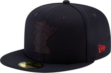 7e103b272e6 New Era Men s Minnesota Twins 59Fifty Clubhouse Navy Fitted Hat.  noImageFound