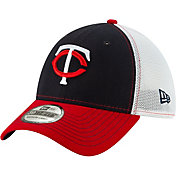 New Era Men's Minnesota Twins 39Thirty Practice Piece Stretch Fit Hat