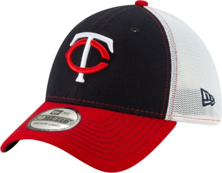 new arrivals 9ec55 b04e6 New Era Men  39 s Minnesota Twins 39Thirty Practice Piece Stretch Fit Hat